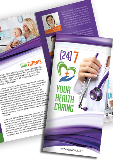 Medical – Free Tri-Fold PSD Brochure Template