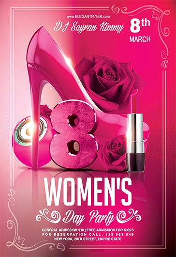 Women's Day V02 – Flyer PSD Template