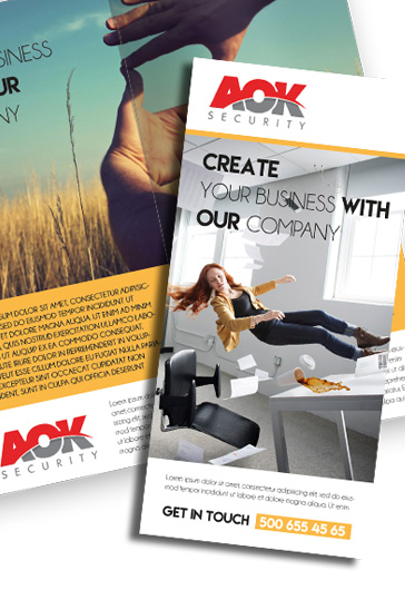 Corporate – Premium Tri-Fold PSD Brochure Template