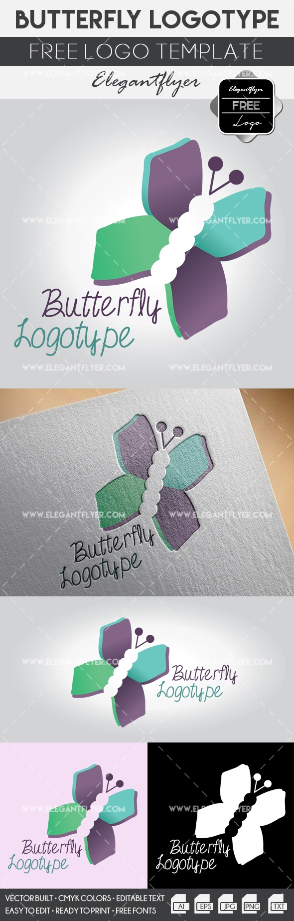Butterfly – Free Logo Templates
