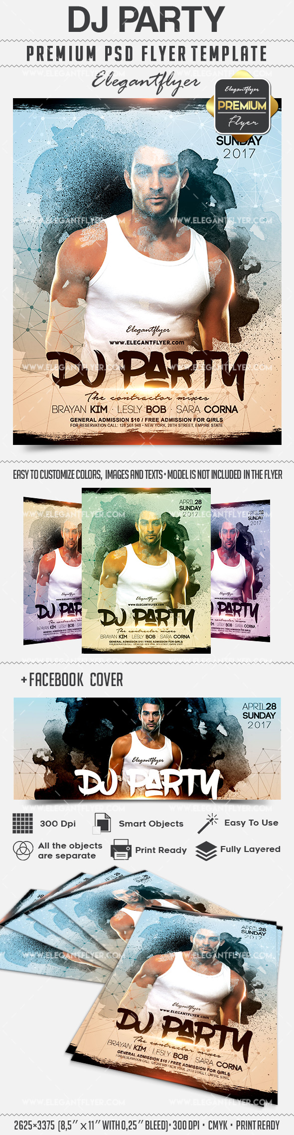 Dj for Parties Poster