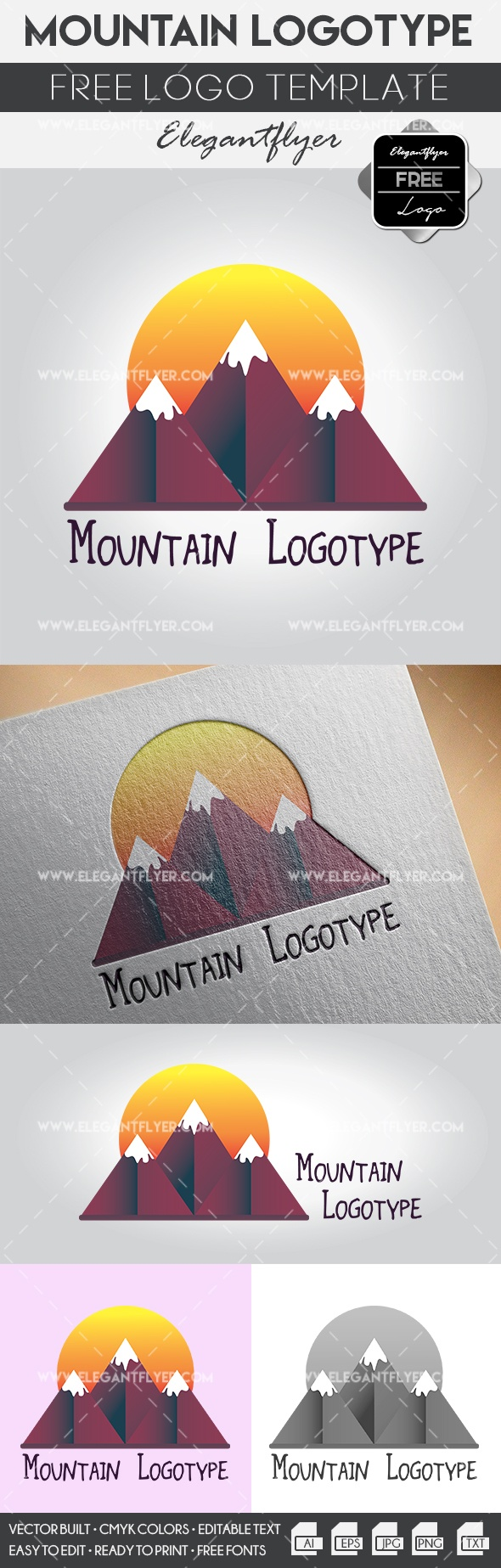 Mountain – Free Logo Templates