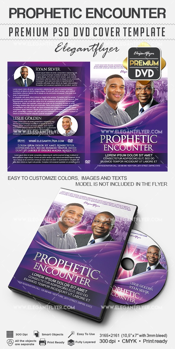 Prophetic Encounter – Premium DVD Cover PSD Template