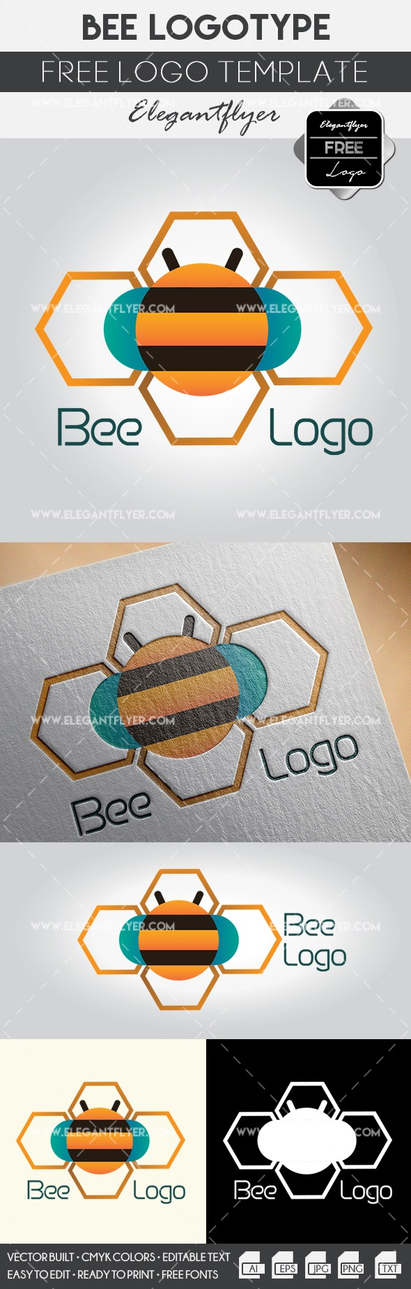 Bee – Free Logo Templates