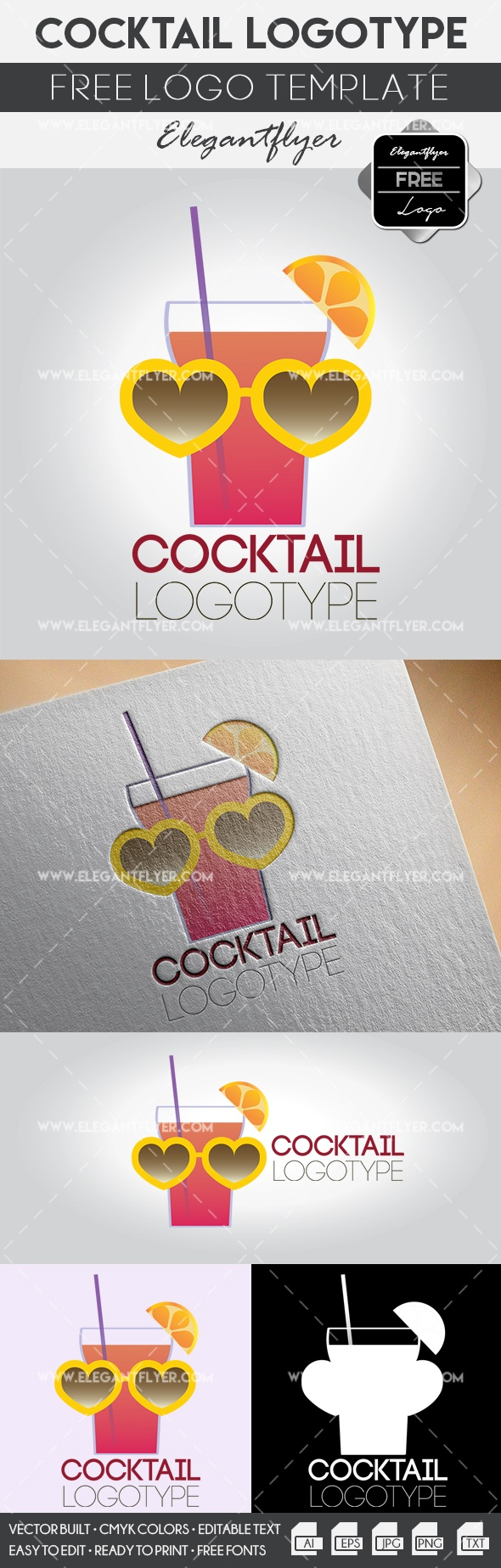 Cocktail – Free Logo Templates
