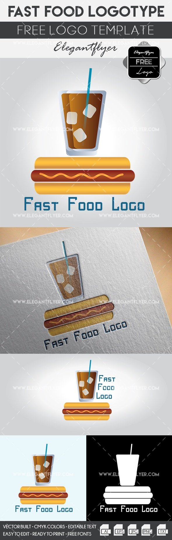 Fast Food – Free Logo Templates