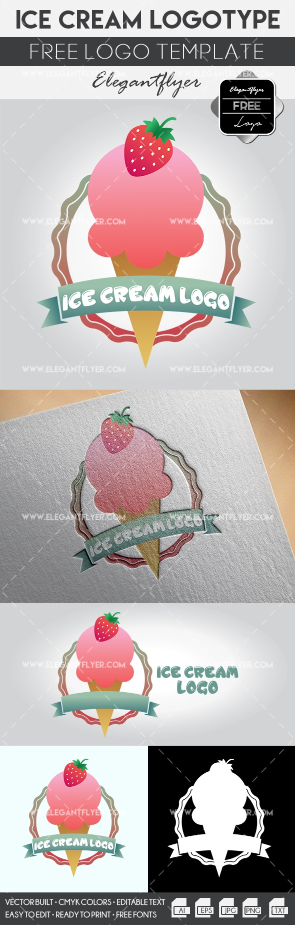 Ice Cream – Free Logo Templates