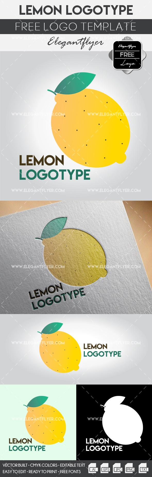 Lemon – Free Logo Templates