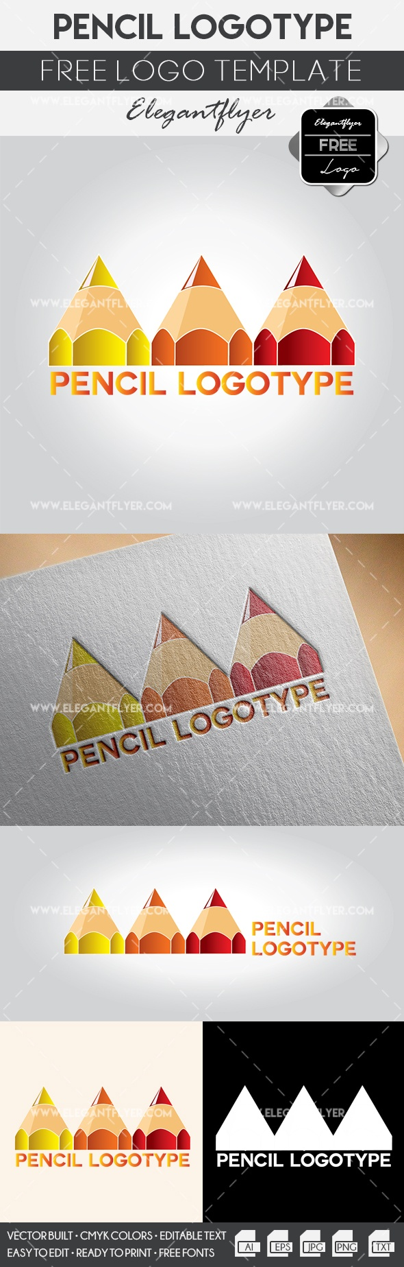 Pencil – Free Logo Templates