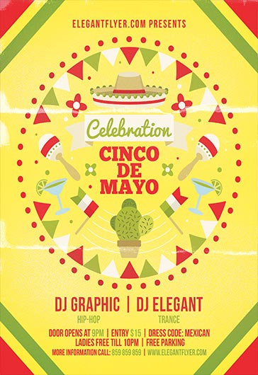 cinco de mayo invite template