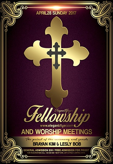 Free Flyer Fellowship and Worship Meetings