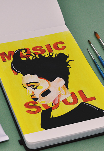 Music Soul – Premium Stock Illustration