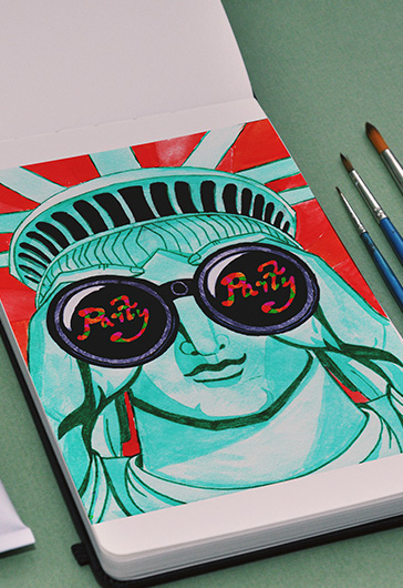 Statue of Liberty – Premium Stock Illustration