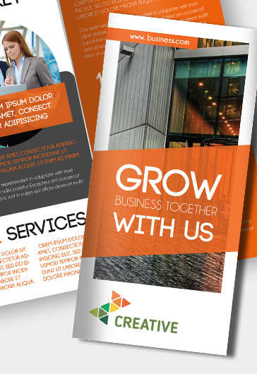 Tri-Fold PSD Brochure for Business
