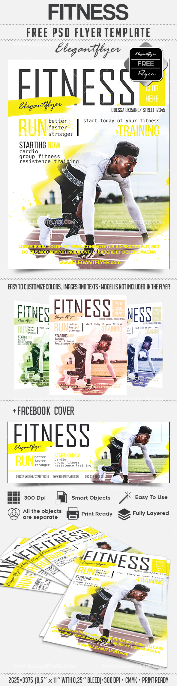 Fitness for Men Poster