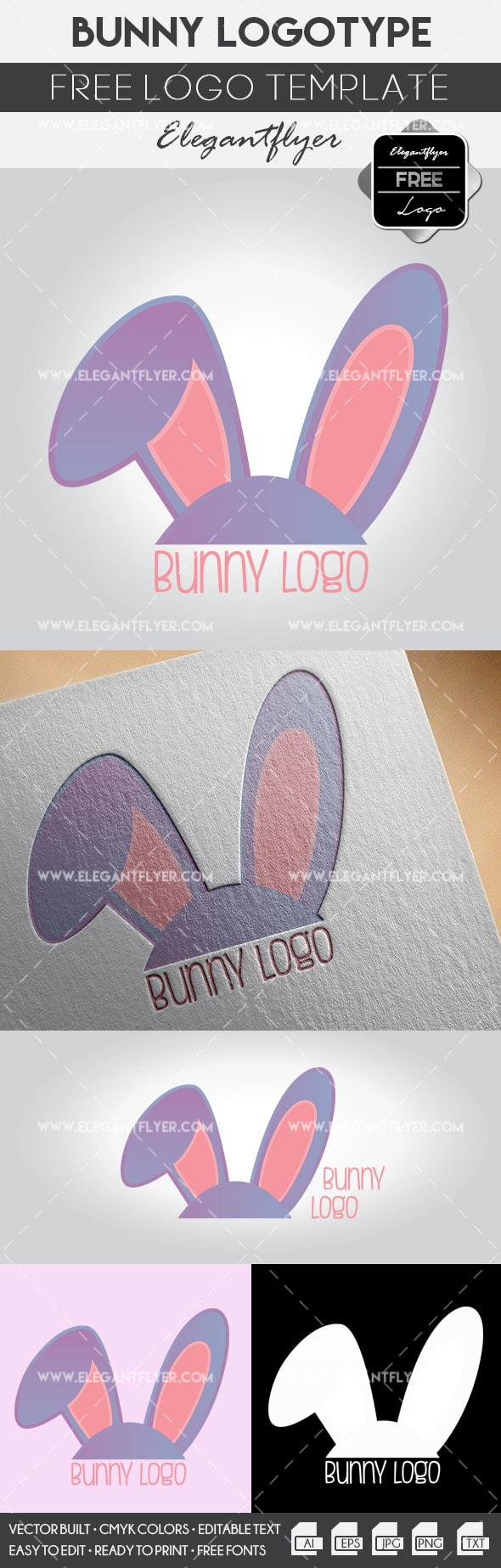 Bunny – Free Logo Template