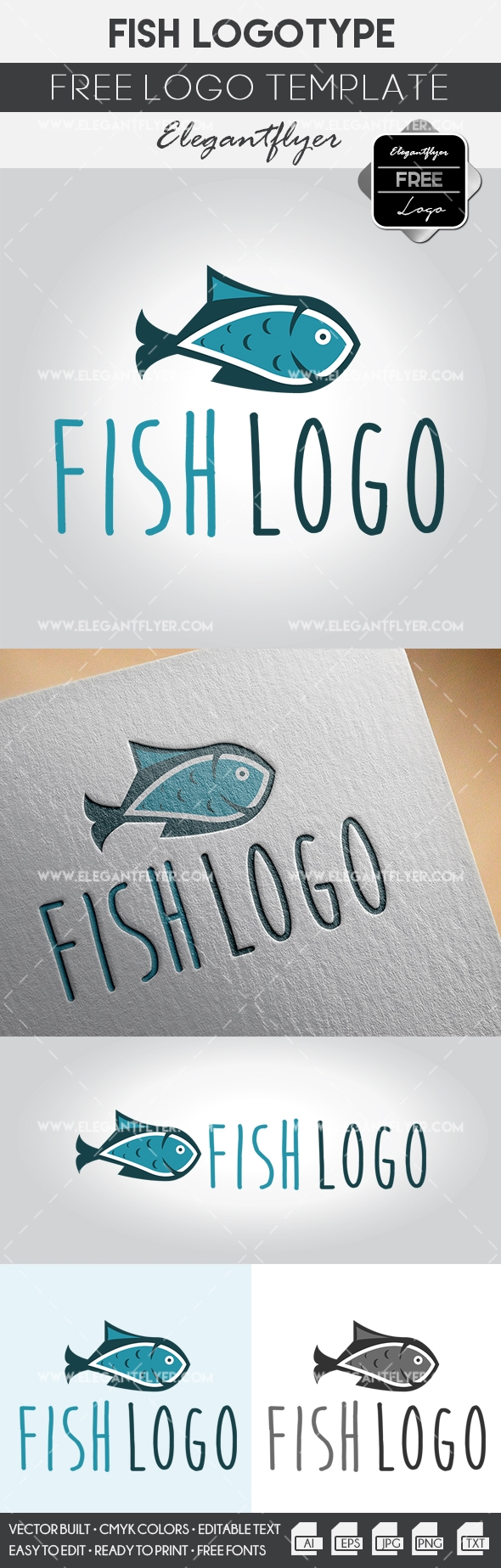 Free Fish Vector Logo