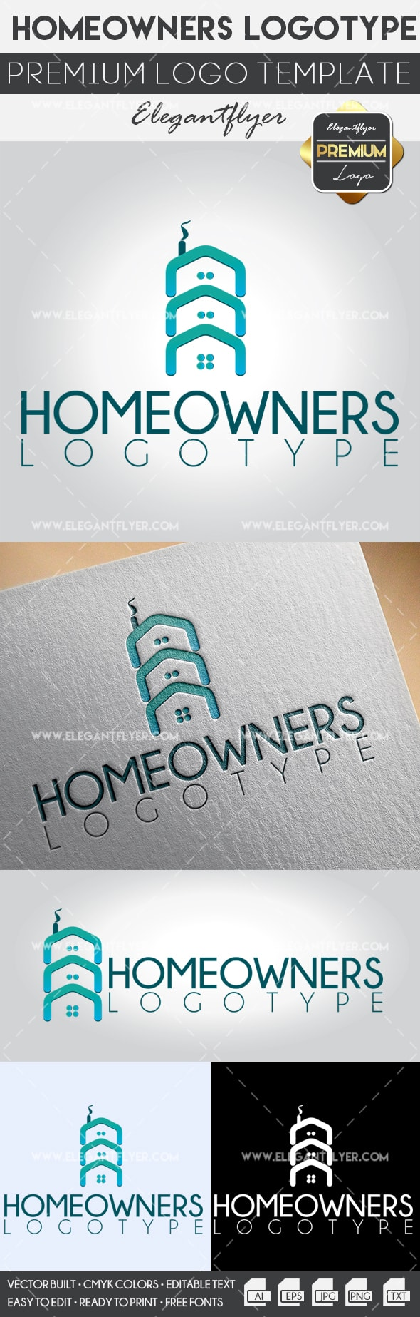 Homeowners – Premium Logo Template