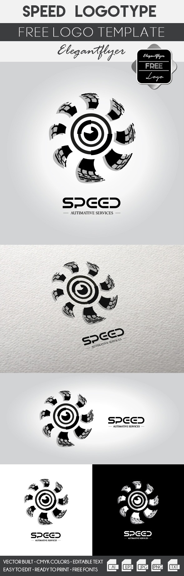 Speed logo – Free Logo Template