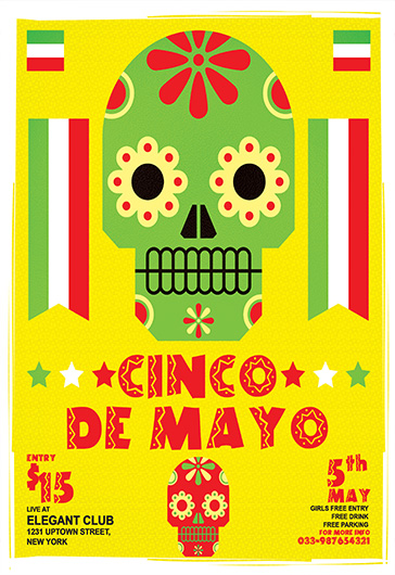 Cinco de Mayo Celebration Food Template