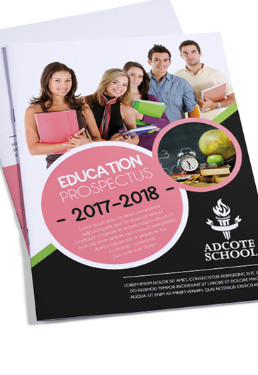 Education – Premium Bi-Fold PSD Brochure Template