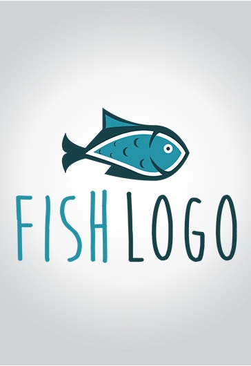 Fish – Free Logo Template