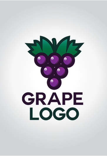 Grape – Free Logo Template