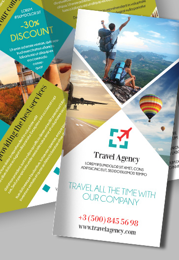 Tourism – Free Psd Tri-Fold Psd Brochure Template – By Elegantflyer