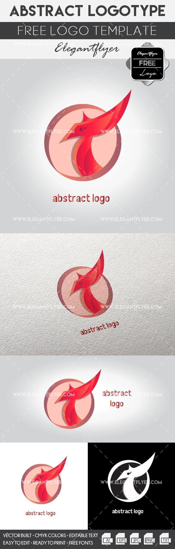 Abstract Logo – Free Logo Template