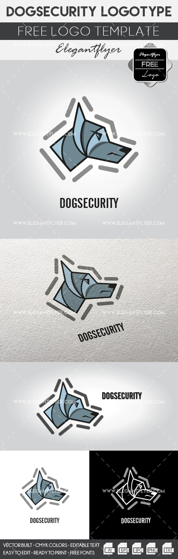 Dogsecurity – Free Logo Template