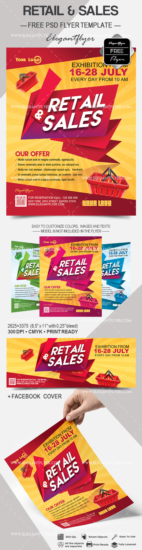 Retail & Sales – Flyer PSD Template
