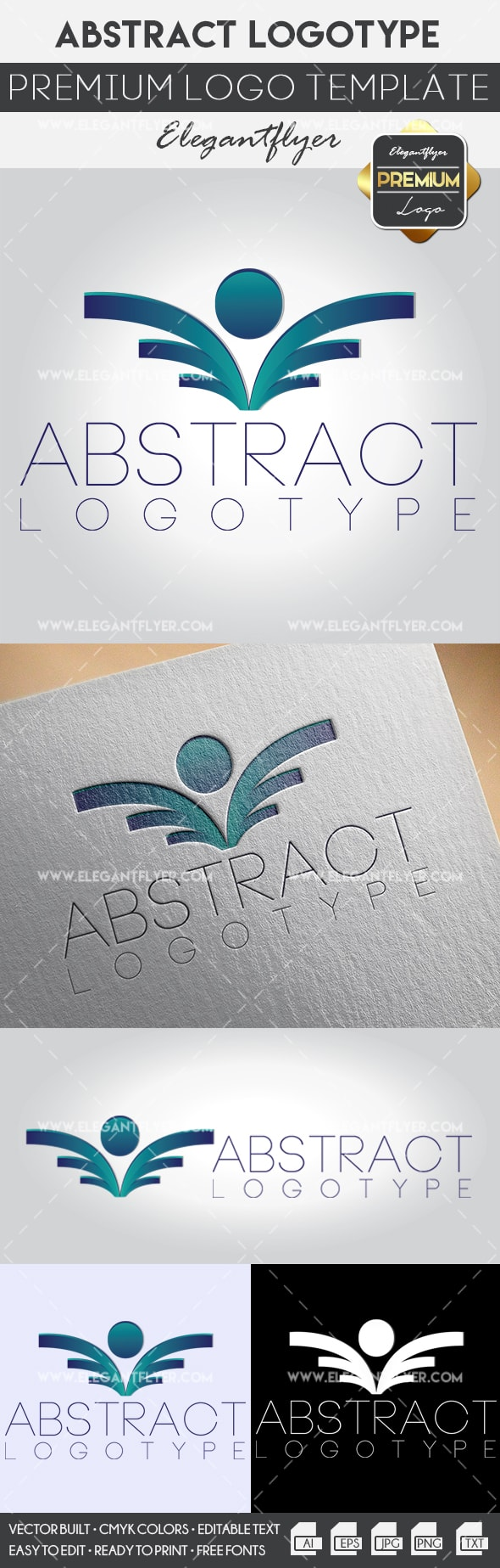 Template Abstract Logo for Printable