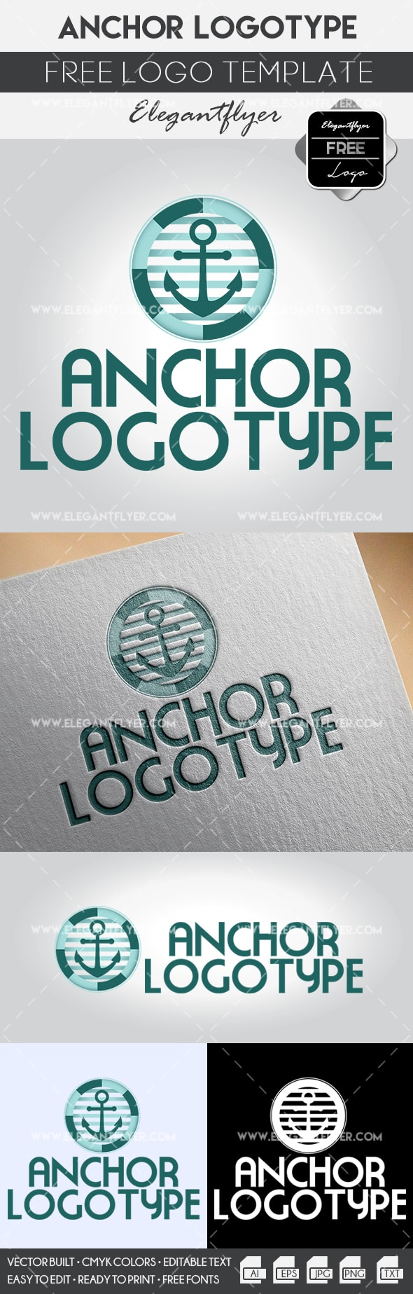 Anchor – Free Logo Template