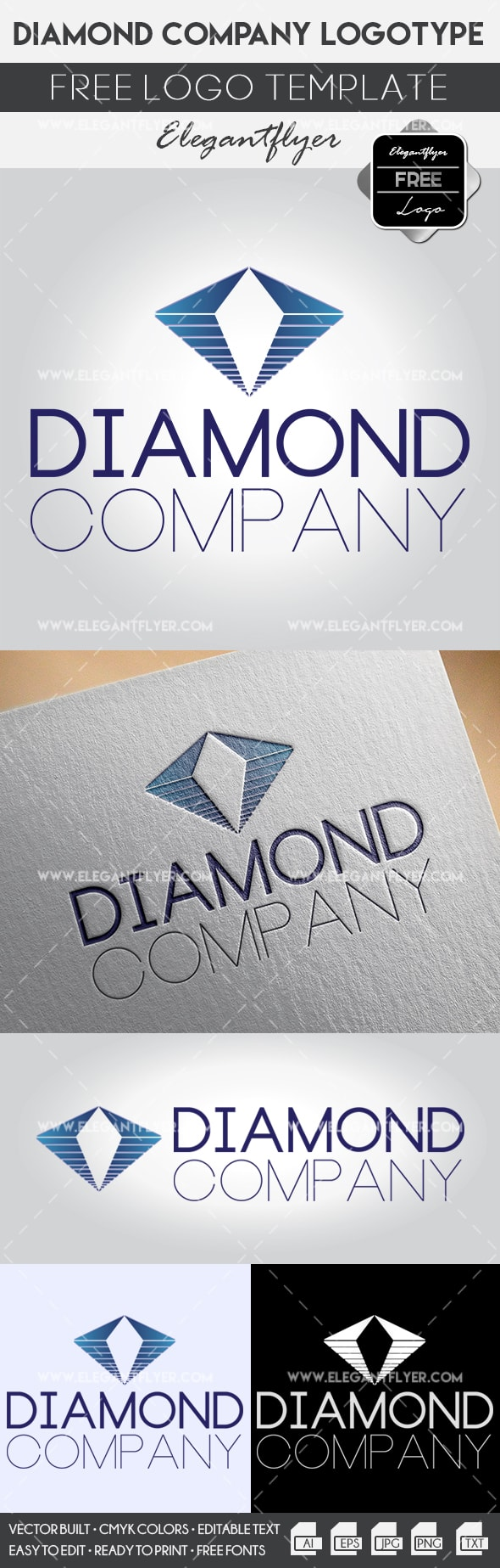 Diamond Company – Free Logo Templates