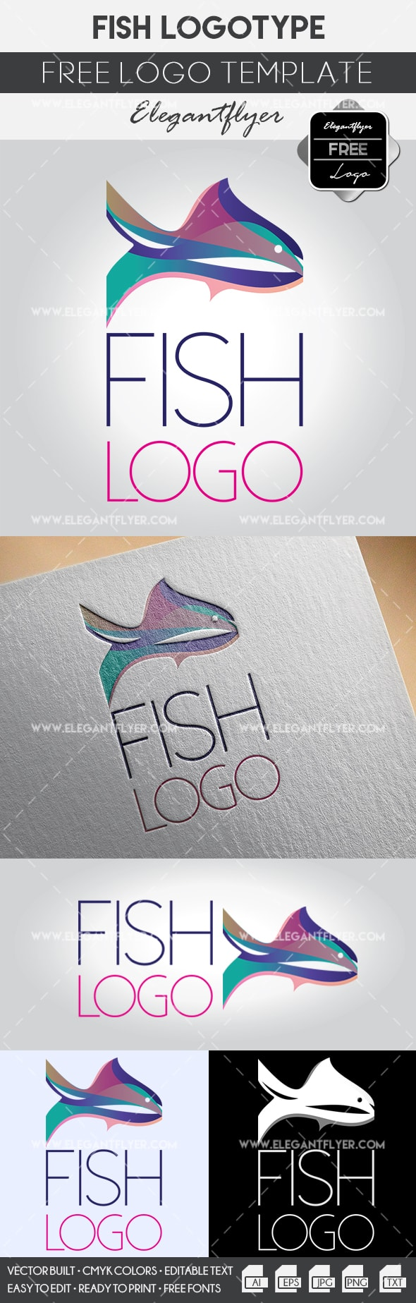 Template for Fish Logo Inspiration