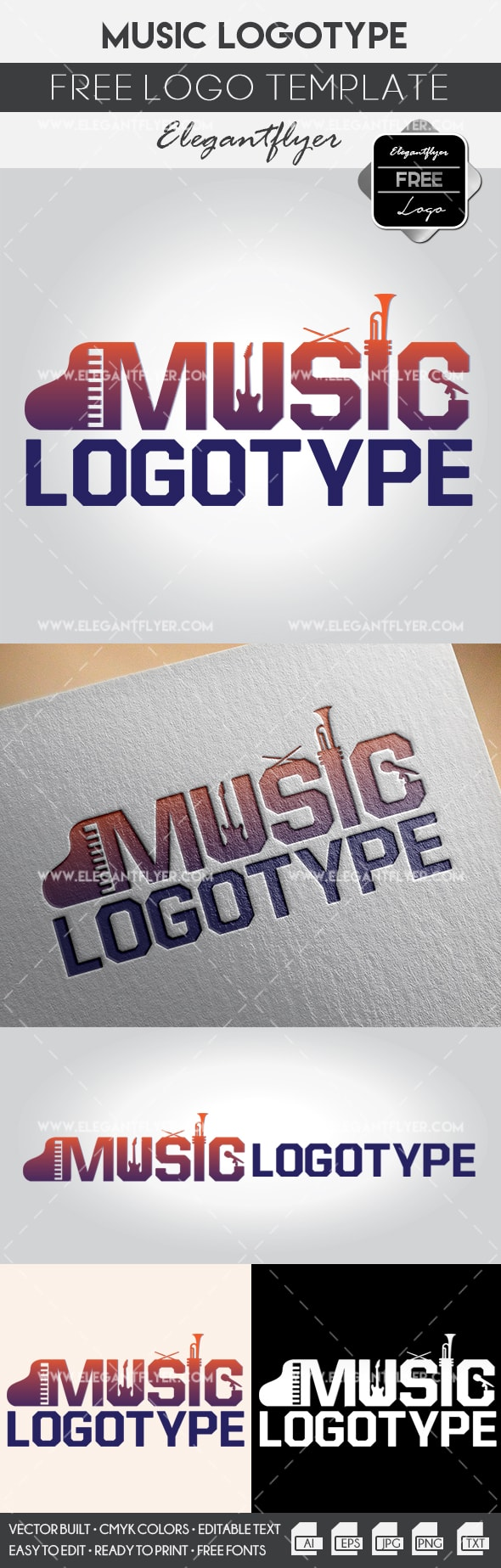 Free Logo for Music Company