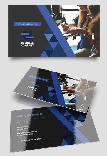 Business Company – Business Card Templates PSD