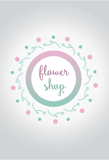 Flower Shop – Premium Logo Template