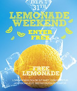 Smallpreview_Lemonade_Weekend_flyer_psd_template_facebook