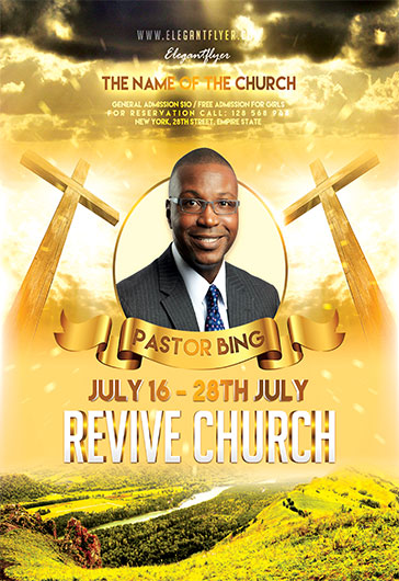 Spiritual Church Flyer Psd Template By Elegantflyer