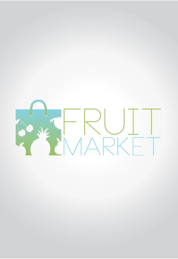 Fruit Market – Free Logo Template