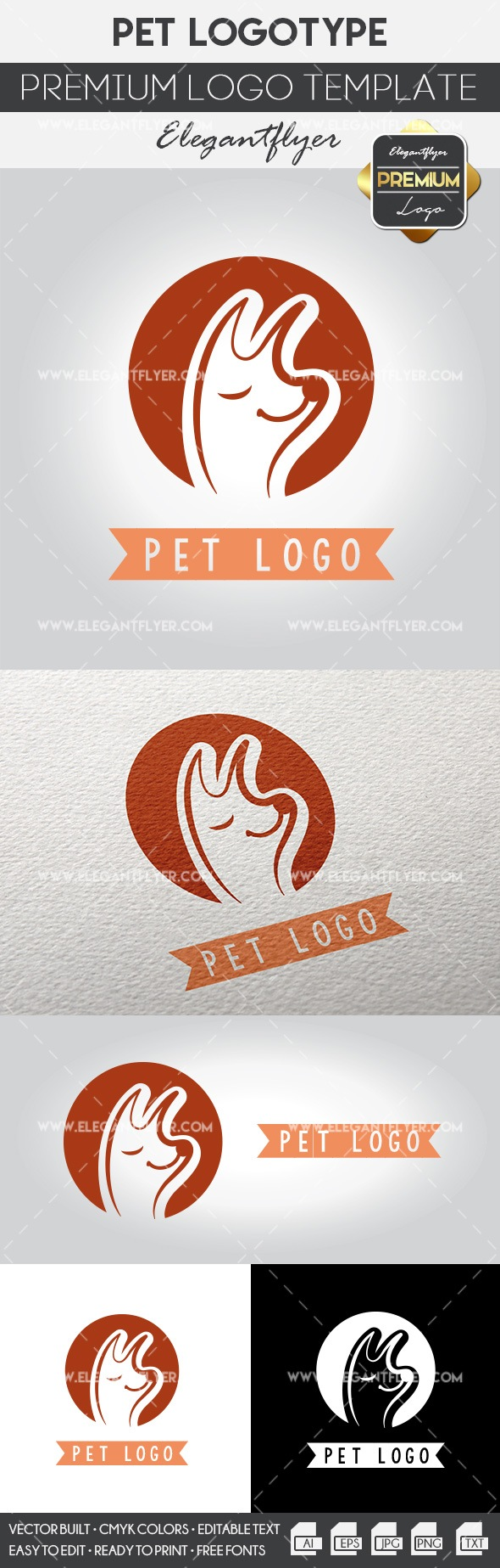 Pet Logo – Premium Logo Template