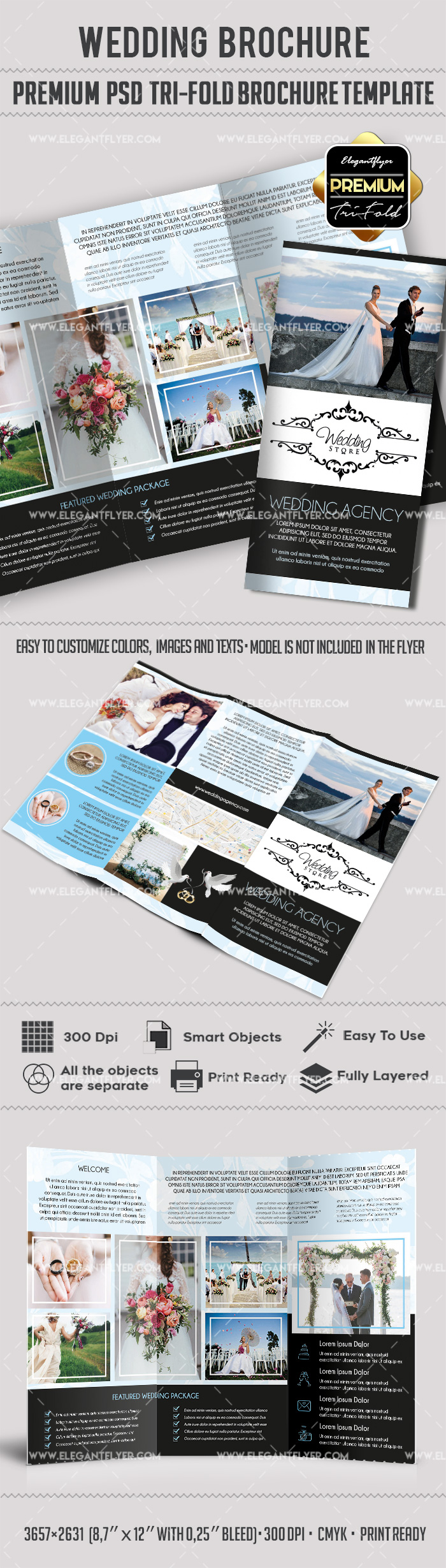 Template for Wedding Agency