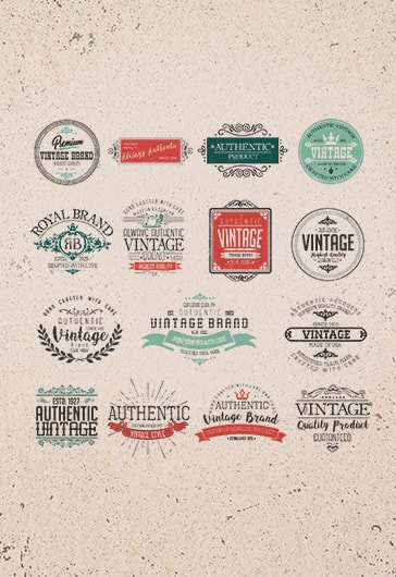 Retro – Free Logo Template