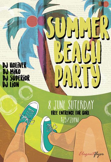 Summer Joy – Flyer PSD Template