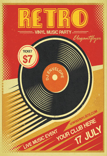 Jazz Night Flyer Template  By Elegantflyer