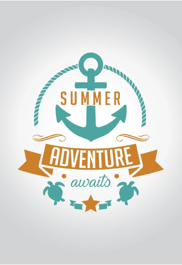 Summer Adventure – Premium Logo Template