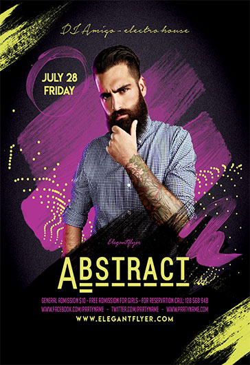 Music Party – Flyer PSD Template