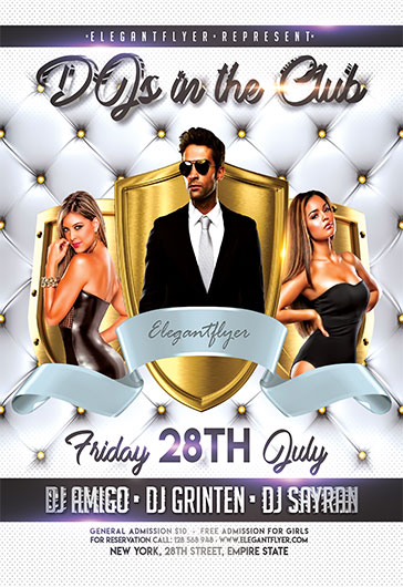 Birthday Party V04 – Flyer PSD Template