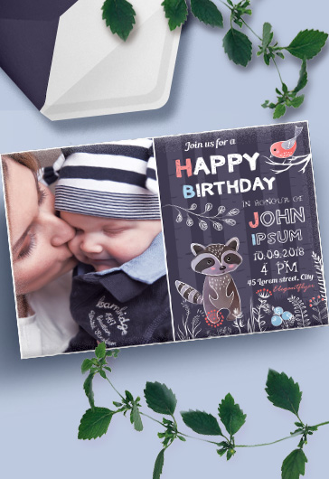 Birthday Party v02 – Invitation PSD Template